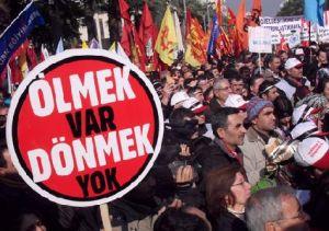Tekel workers in Turkey
