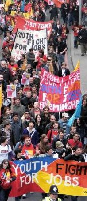 Youth March fo Jobs in Britain