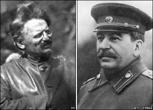 Trostky's battle against the Stalinist degeneration of the Russian revolution