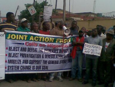 Joint Action Front, Lagos, 16 January
