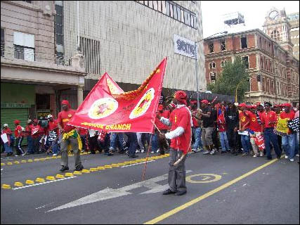 South Africa: One-day general strike shows workers' willingness to fight back - photo DSM