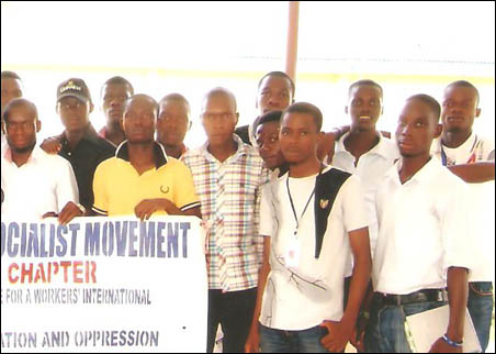 Participants at DSM Akungba symposium - photo DSM