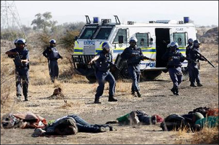 The premeditated slaughter of 34 striking Lonmin miners in Marikana by the South African police on 16 August 2012 shocked the world