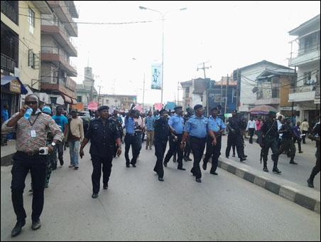 OKADA RIDERS PROTEST BAN AND VICTIMISATION - police - photo DSM