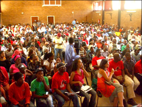 Launch of the Workers and Socialist Party (WASP), South Africa, 22 March 2013 - photo S Figg