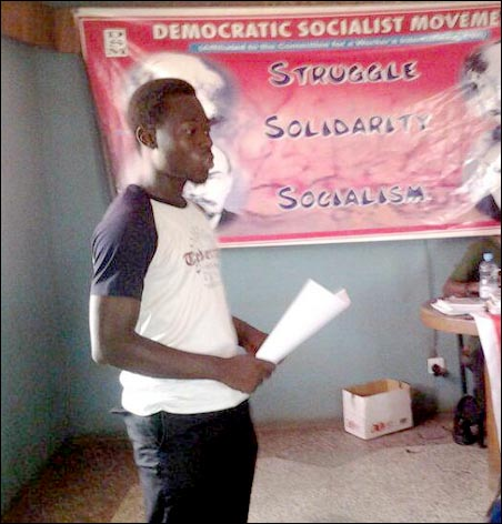 Michael Ogundele: victimised by UI Authorities, photo DSM