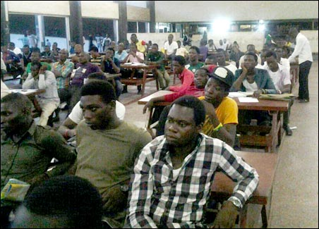 Audience at OAU STC Symposium, photo DSM