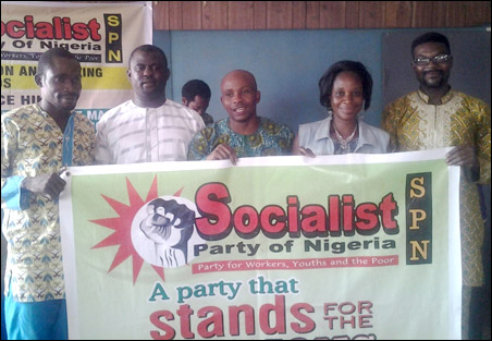 Elected Protem Executive, Lagos State Chapter of SPN, photo DSM