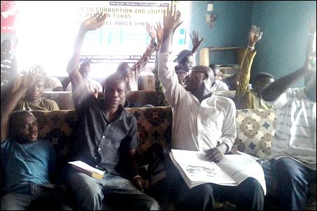 SPN members voting for protem Lagos executive - photo DSM