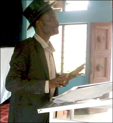 Alfred Adegoke, protem chairperson SPN Osun state - photo DSM