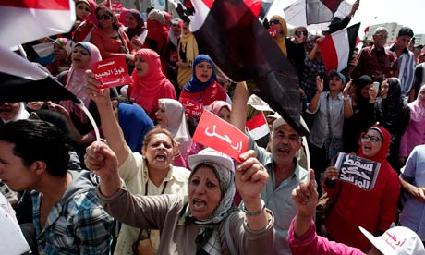 Egypt protest 1 July 2013