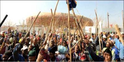Militant protests