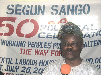 Segun Sango at 50 celebration - photo DSM