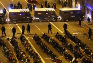 Protests met with police brutality