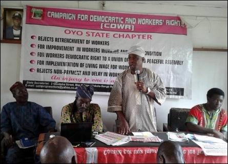 S W Oloyede Chair NLC Oyo - photo DSM