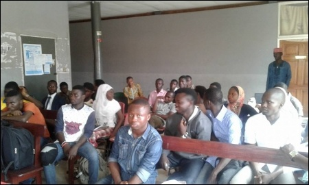 A cross section of DSM comrades at the meeting - photo DSM