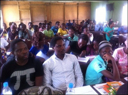 Cross section of the LASU audience - photo DSM