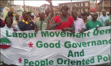February 9 protesters in Lagos