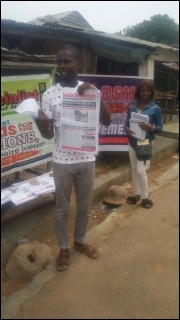 DSM comrades in Ogbomoso, Oyo state May Day - photo DSM