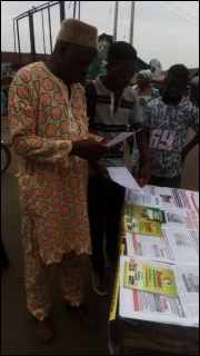 Tabling in Ile-Ife, Osun state - photo DSM