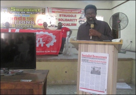 Dr. Nkem Onyekpe, UNILAG ASUU - photo DSM
