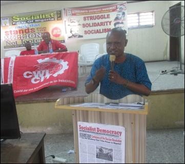 Dr. Adebowale Suenu - Secretary ASUU LASU - photo DSM