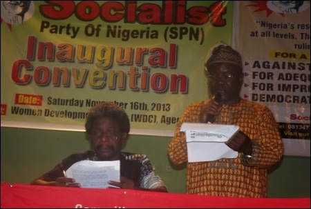 Segun Sango at 2013 SPN Inaugural Convention - photo DSM