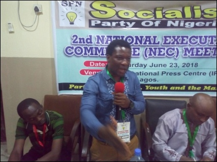 Abiodun Bamigboye elected Acting National Chairperson - photo DSM