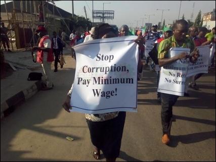 Stop Corruption, Pay New Minimum Wage! - photo DSM