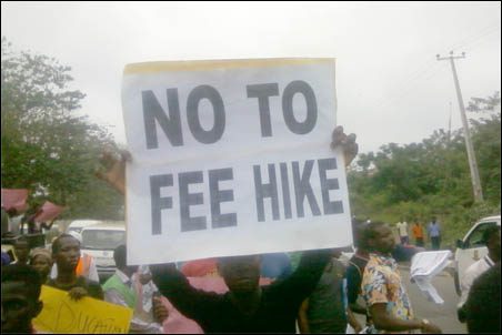 No to fee hike: Workers and Students Continue Save Public Education Struggle , photo DSM