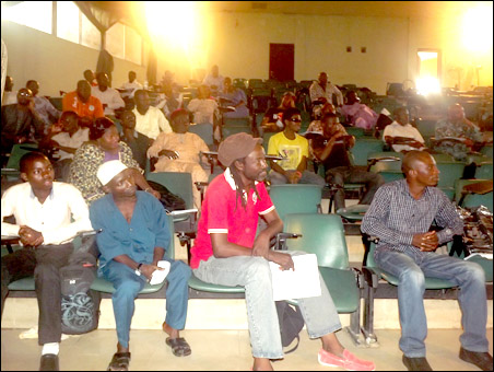 Cross section of delegates to founding conference of SPN Inaugural Convention , photo by Uche Uwadinachi, member DSM