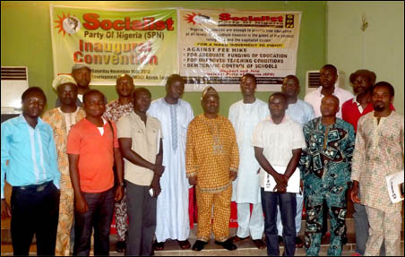 Some of the Elected NEC Members at the SPN Inaugural Convention, photo by Uche Uwadinachi, member DSM