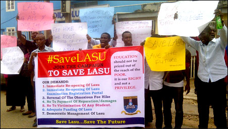 Sensitisation Rally in Ogba Lagos after the Press Conference, photo by DSM