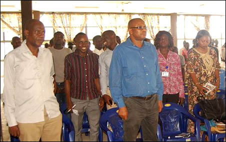 A cross section of participants at the ERC National Symposium 2014, photo by DSM