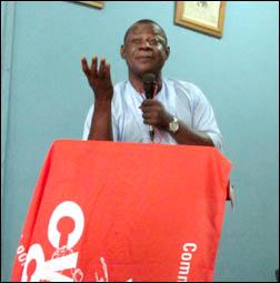 Abiodun Aremu JAF Secretary, photo by DSM