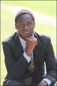 Olawuni Mustapha, DSM UI Branch candidate for Students' Union President, photo by DSM