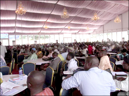 A cross section of participants at the ASUU Education Summit 2014, photo DSM