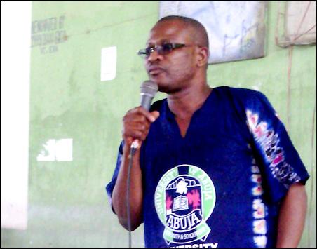 Prof Josiah Ajiboye, Chairman ASUU University of Ibadan
