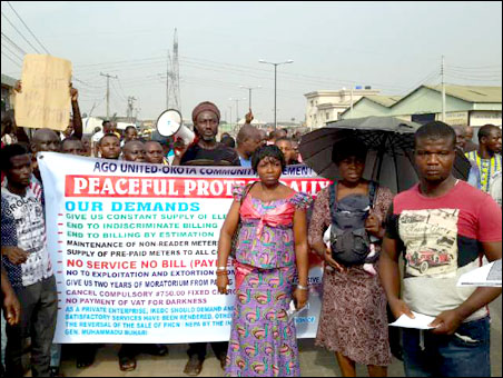 Protest March - photo DSM