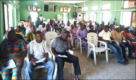 A cross section of the participants at the symposium - photo DSM